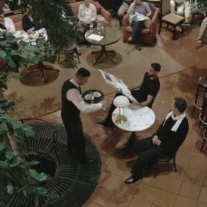 """A. Schnitzler """"Gespräch in der Kaffeehausecke"""""""